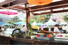 享受纯正泰国风味就在天堂岛池畔餐厅