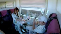 《旅途的花样》林志玲、沈腾火车上尬舞