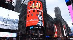 壮阔东方潮 奋进新时代 新骄阳代表中国企业形象荣登纽约纳斯达克