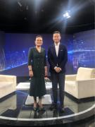 北京中天华董事长李晓红做客
