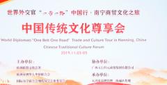 共享传统文化盛宴 20国外交官齐聚广西南宁