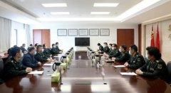 解放军新闻传播中心领导来总医院走访慰问
