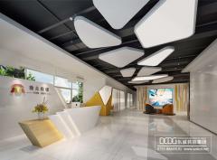 视觉与商业融合 东诚装饰让现代办公室空间格调十足