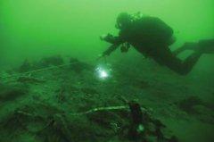 """致远舰考古发现北洋海军将士遗骸 """"都已不完整"""